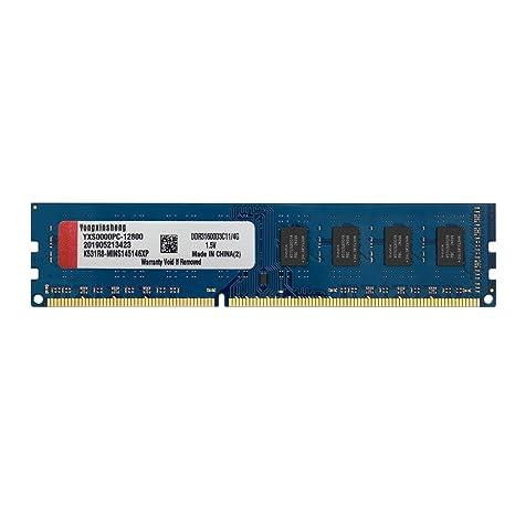 Yongxinsheng DDR3 - Tarjeta de Memoria PC3 (4 GB, 1600 MHz ...