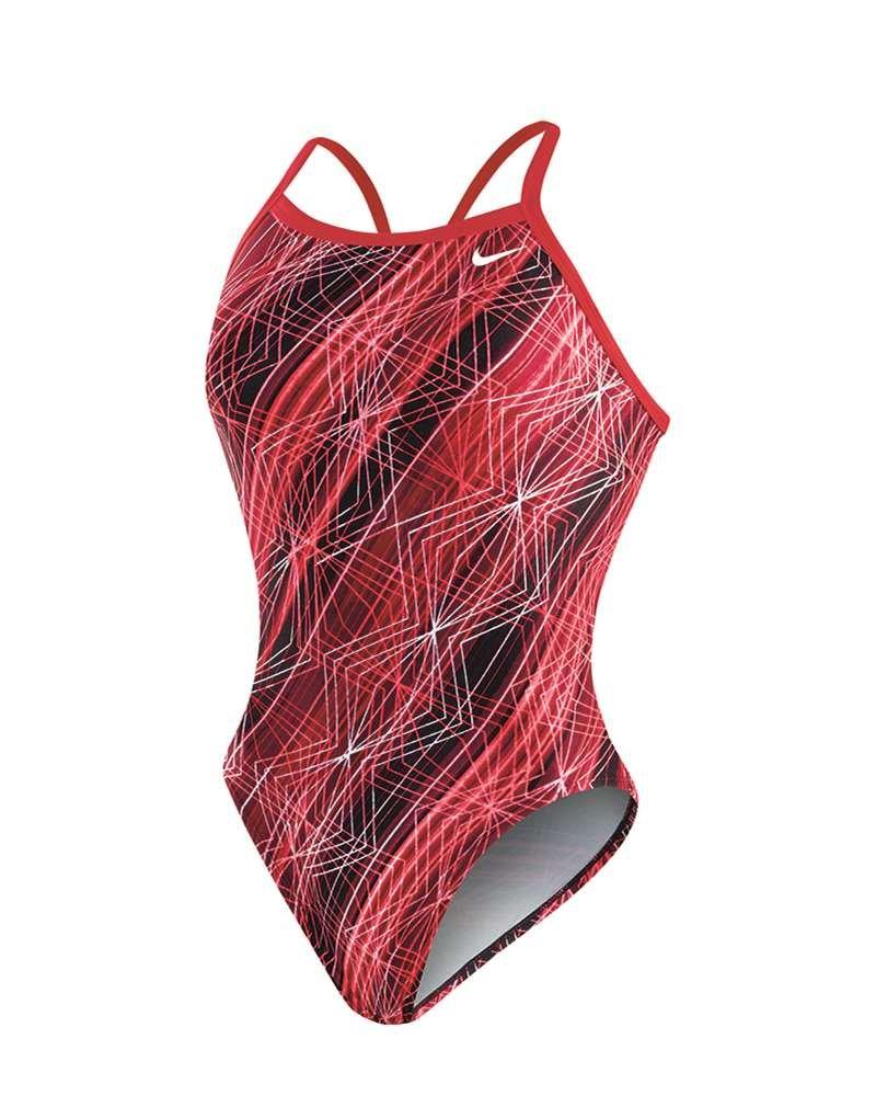 Nike Swim Female Epic Lights Lingerie Tank,University Red (614),24
