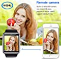 WGHL Wearable Bluetooth Touch Screen Smart Watch with Camera and SIM Card Slot for Android Samsung HTC LG SONY (Full Functions) IOS iPhone 5 / 5s / 6 / 6plus / 7(Partial functions)