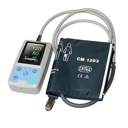 B Baosity Brazo Tipo Tensiómetro Inteligente Automática Voz Electrónica Tensiómetro para Monitoreo de Salud: Amazon.es: Salud y cuidado personal