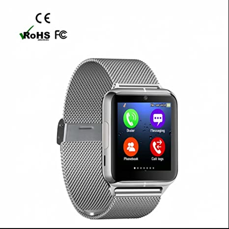 SmartWatch Bluetooth reloj inteligente Reloj Deportivo,Monitores de Actividad, Anti perdidos,Monitor de