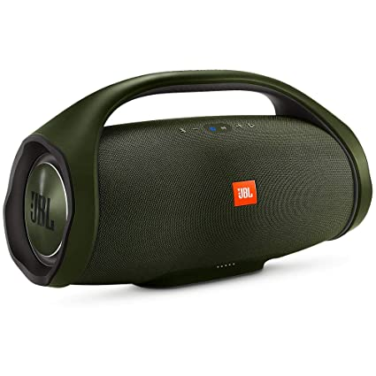 8d272877e30dfe Amazon.com: JBL Boombox, Waterproof portable Bluetooth speaker with 24  hours of playtime - Green: Electronics