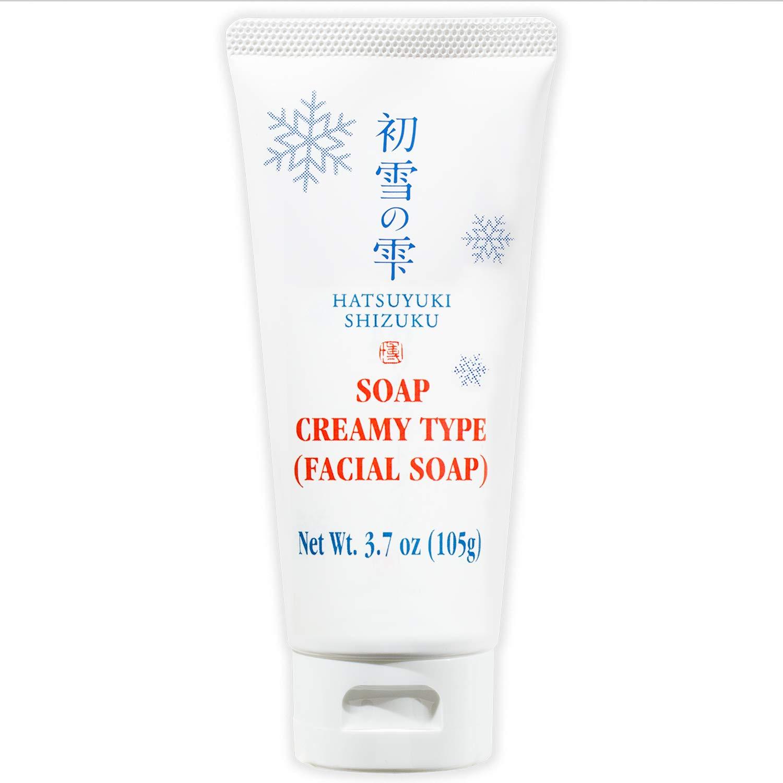[HATSUYUKI SHIZUKU] Rich Foaming Face Wash, Deep Pore Cleansing for Dry Skin, Made in Japan 日本 - 3.7oz/105g