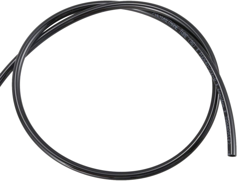 tube tuyau dair PU Noir Cikuso 15M // 49,2pi 6mm x 4mm DE DI