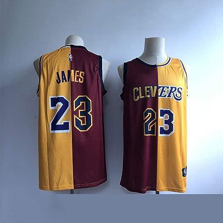 ZXQW NBA Baloncesto Uniformes Jersey Knight Lakers 23º James ...