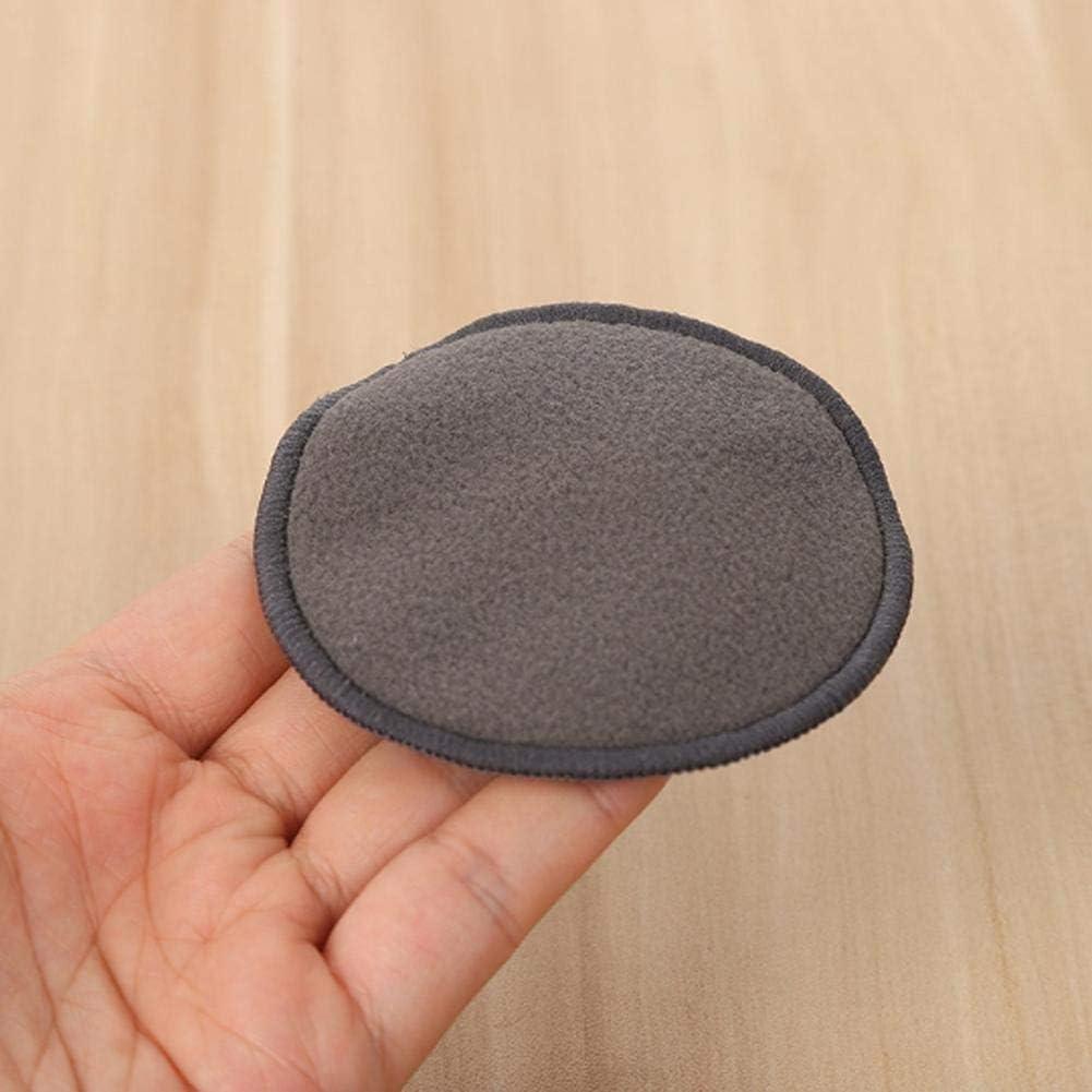 Disques Coton Demaquillant Lavable,Fibre De Bambou Funihut 12PCS Tampons D/émaquillants Fibre De Bambou Velours Lavable Et R/éutilisable Noir