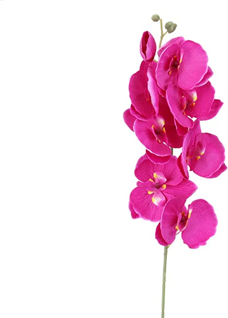 Flower Phalaenopsis Bouquets Fake Flowers Orchid Butterfly DIY Artificial Decor