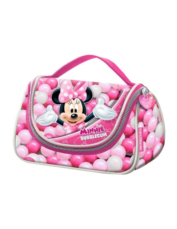 Minnie Mouse Bubblegum Trousse de Toilette, 20 cm, Rose (Rosa) Karactermania 36210