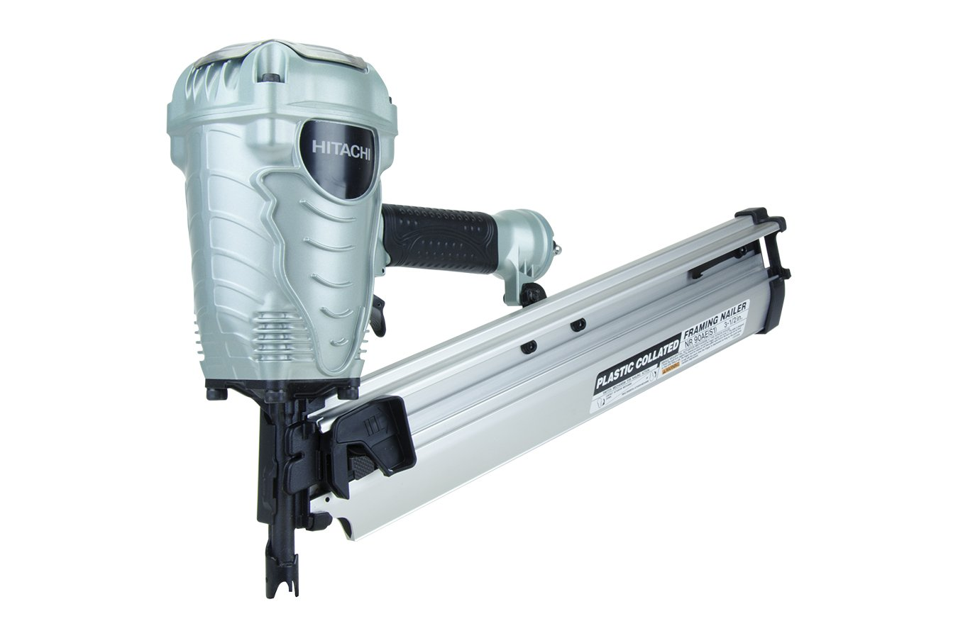 Hitachi NR90AES1 2 to 3-1 2 Plastic Collated Framing Nailer