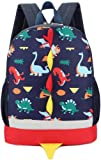 Mochila Infantil,WolinTek Dinosaurios Mochila para Niños Infantil Guarderia Mochila Escolar para Niños Niñas (Azul…