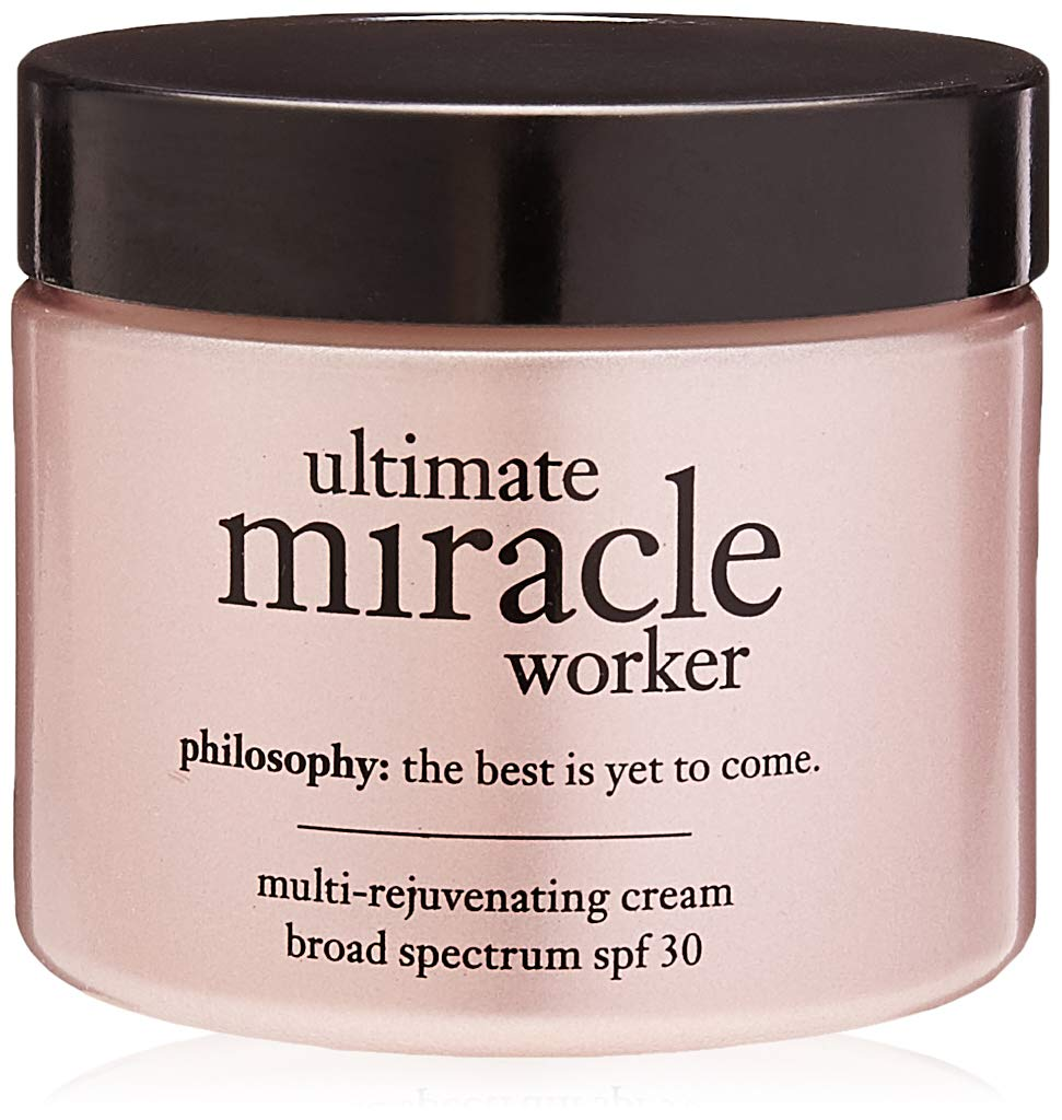 Philosophy Ultimate Miracle Worker Multi-Rejuvenating Cream Broad Spectrum SPF 30, 2 Ounce by Philosophy