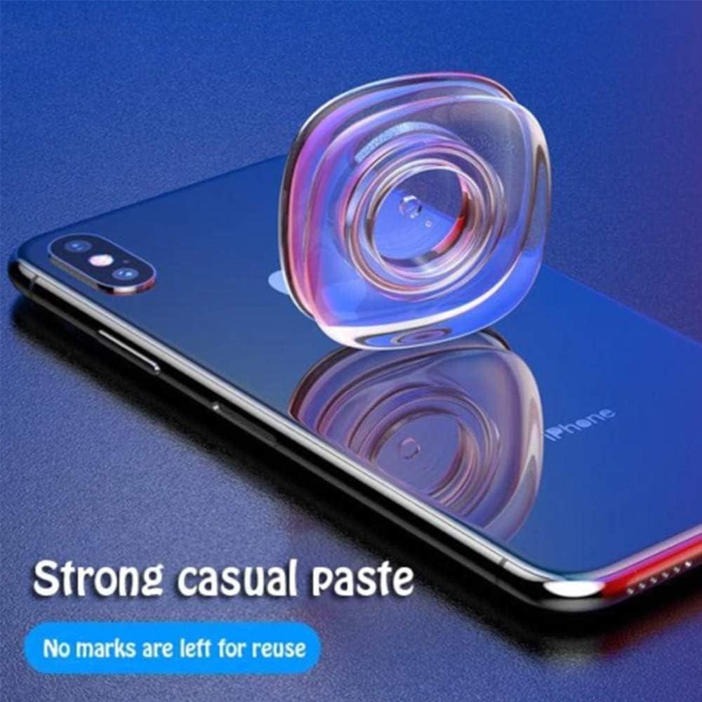 HJHY@ Autocollant Magique Nano R/éutilisable Support de t/él/éphone Nano P/âte D/écontract/ée PU Mat/ériau Autocollants pour Cuisine Voiture T/él/éphone Porte Gel P/âte2pcs