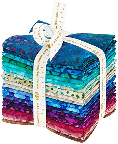 Robert Kaufman Artisan Batik Gemstones Collection by Lunn Studio 20 pc Fabric Fat Quarter Bundle