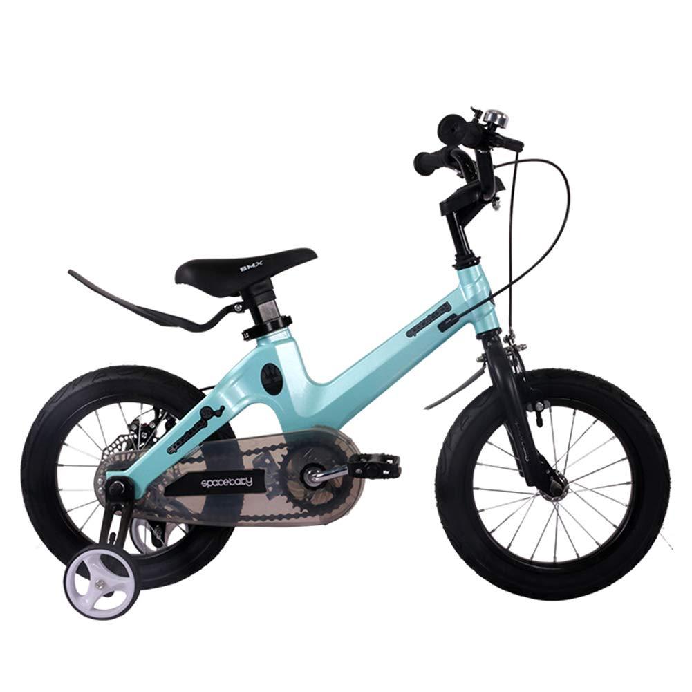 gran venta azul 1-1 Bicicleta para niños niños niños Ligero Aleación de magnesio Freno de Disco Doble Absorción de Golpes Altura Ajustable Niño Niña 12 Pulgadas Bicicleta  100% garantía genuina de contador