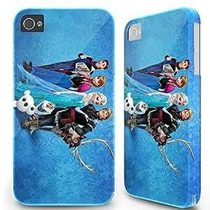 Iphone 4 4S Hard Case Cover - Disney Frozen Elsa Anna Olaf 20 -04