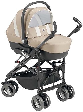 Cam Il Mondo Del Bambino - ART784015 - Combi Tris - Cochecito con sistema de tres módulos, beige/blanco: Amazon.es: Bebé