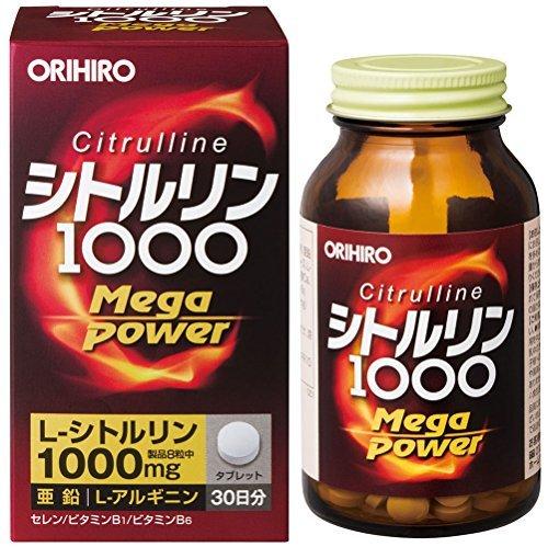 オリヒロ シトルリン Mega Power 1000 240粒 おまとめセット【6個】 B0773L68Q5