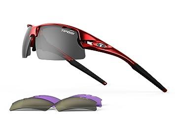 48b281676b Tifosi Optics Tifosi Crit Golf Interchangeable Metallic Red Sunglasses -  Smoke GT trade   EC trade