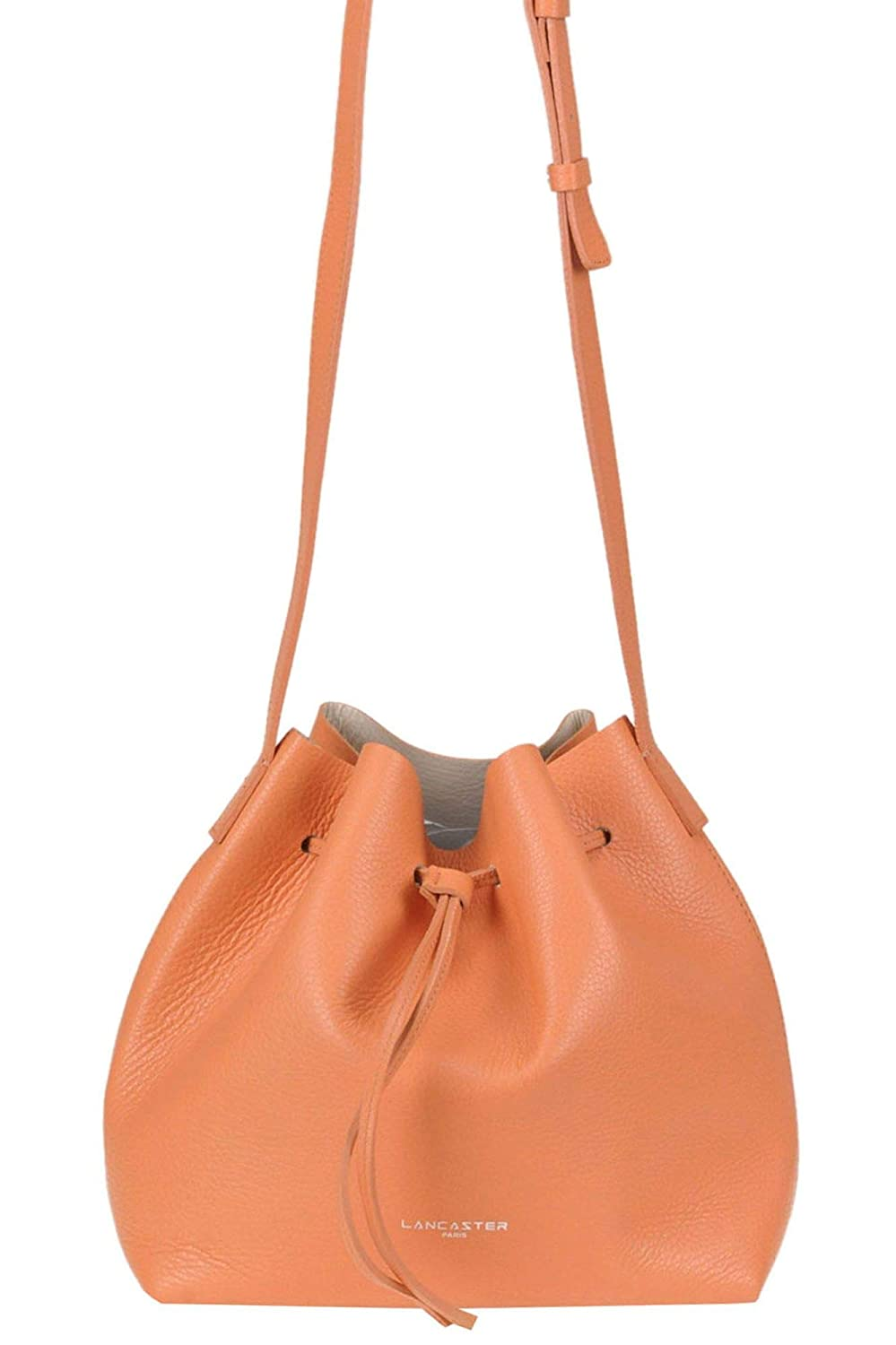 Lancaster Paris Womens MCGLBRE000005094E Orange Leather Shoulder Bag