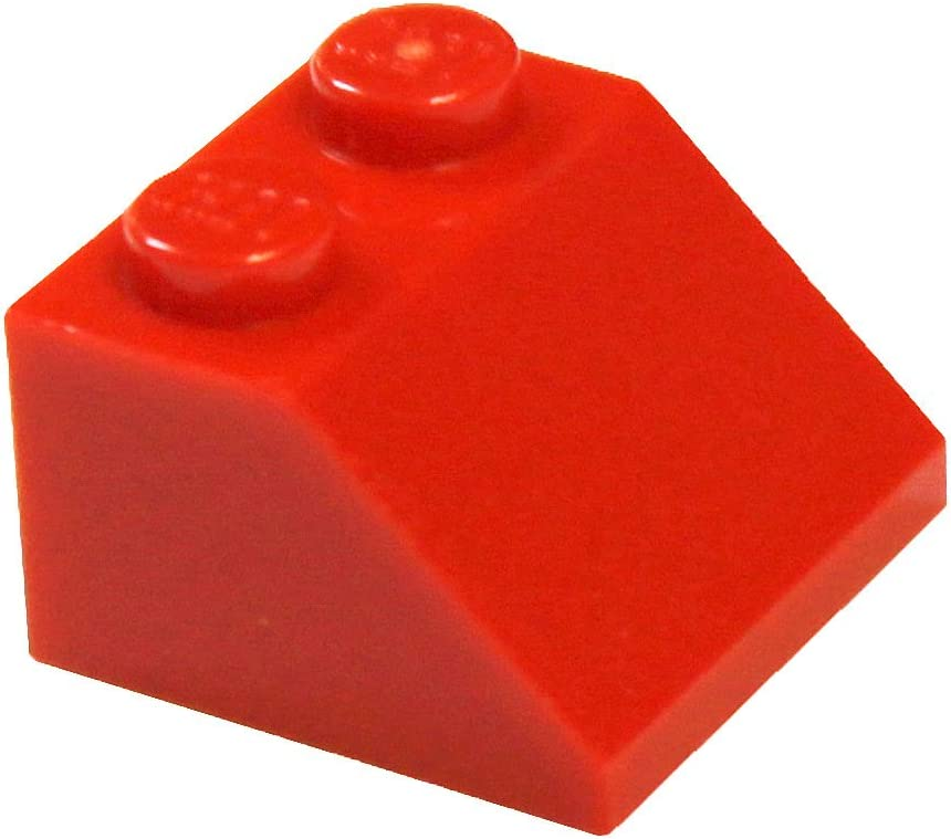 LEGO Parts and Pieces: Red (Bright Red) 2x2 45° Slope x100
