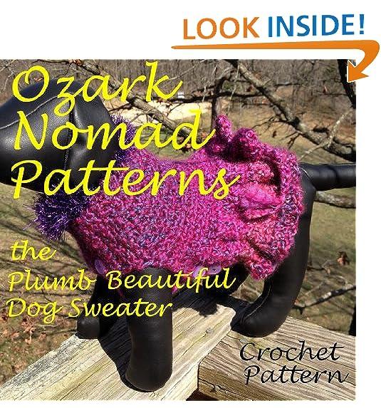 Crochet Dog Sweater Amazon