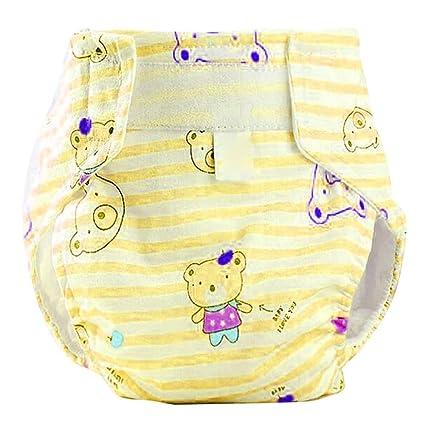 deylay Cartoon pantalones de entrenamiento para bebé infantil Kids Slip pantalones impermeable pañales Nappy Ropa interior