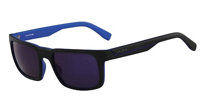 Amazon.com: Lacoste – Gafas de sol, Color l866s, Negro mate ...