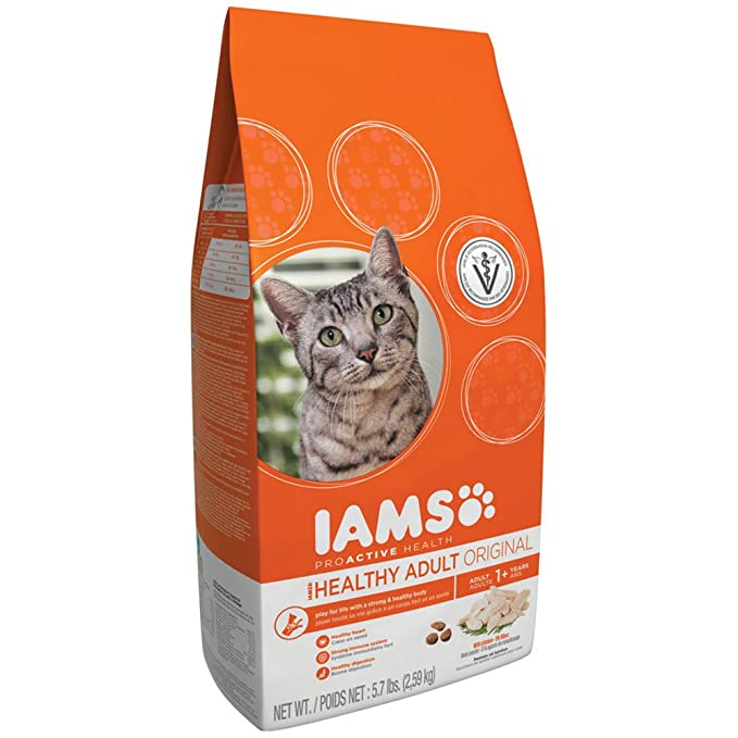 Amazoncom Iams Premium Cat Food Adult Original With Chicken