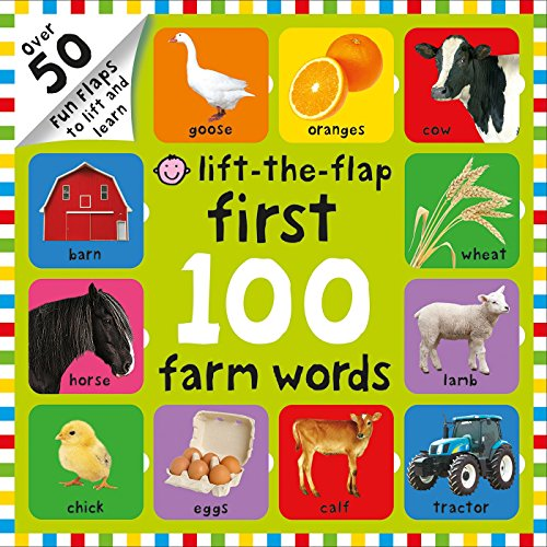 First 100 Farm Words Lift-the-Flap -