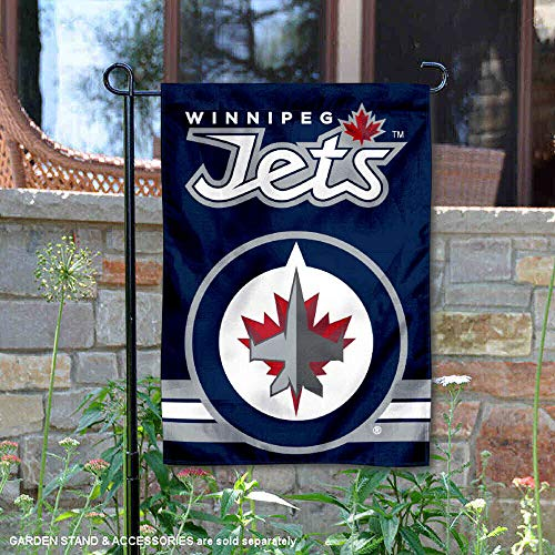 Winnipeg Jets Double Sided Garden Flag