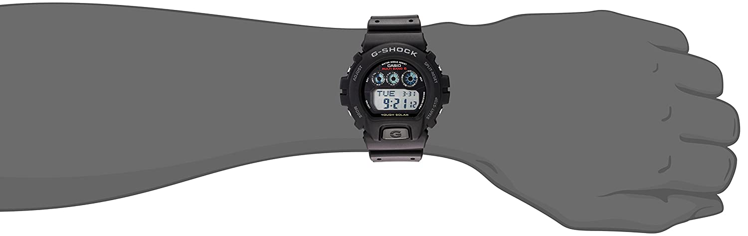 Casio Men s G-Shock GW6900-1 Tough Solar Sport Watch