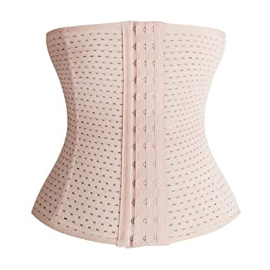 c70834dfb6 Image Unavailable. Image not available for. Color  SeniorMar Women Slimming  Corset Waist Trainer Cincher Body Beauty Shaper Postpartum Belly Band  Underbust ...