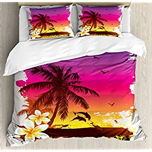 618XnFqduIL._SS300_ Hawaii Themed Bedding Sets