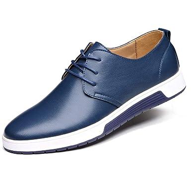 d082f6af71d150 Leey Herren Freizeit Schuhe Schnürschuhe Trachten-schuhe aus Leder Business  Anzugschuhe Atmungsaktiv Lederschuhe Oxford Halbschuhe Party Hochzeit ...