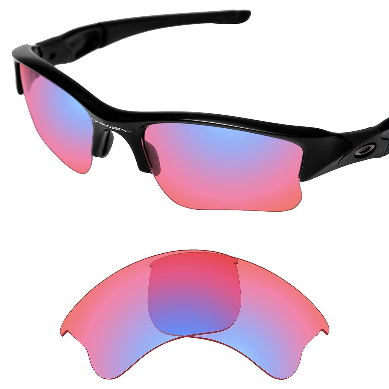 Amazon.com: Tintart Performance Replacement Lenses for Oakley Flak Jacket  XLJ - HD Trail Ruby: Clothing
