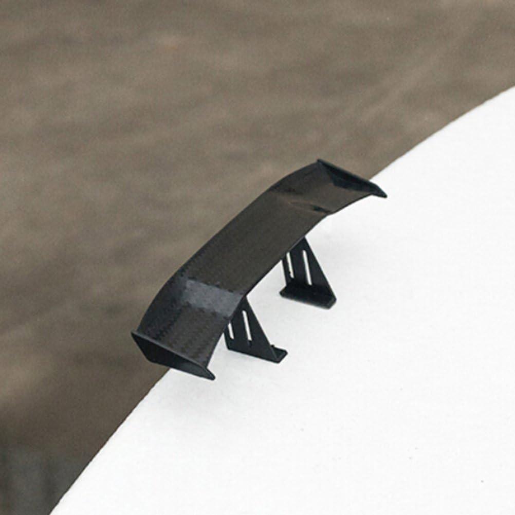CosCosX 1 Pc Mini Spoiler Auto Universal Car Tail Decoration Spoiler Wing Carbon Fiber Car Rear Accessories New Style 6.69inch,Colourful