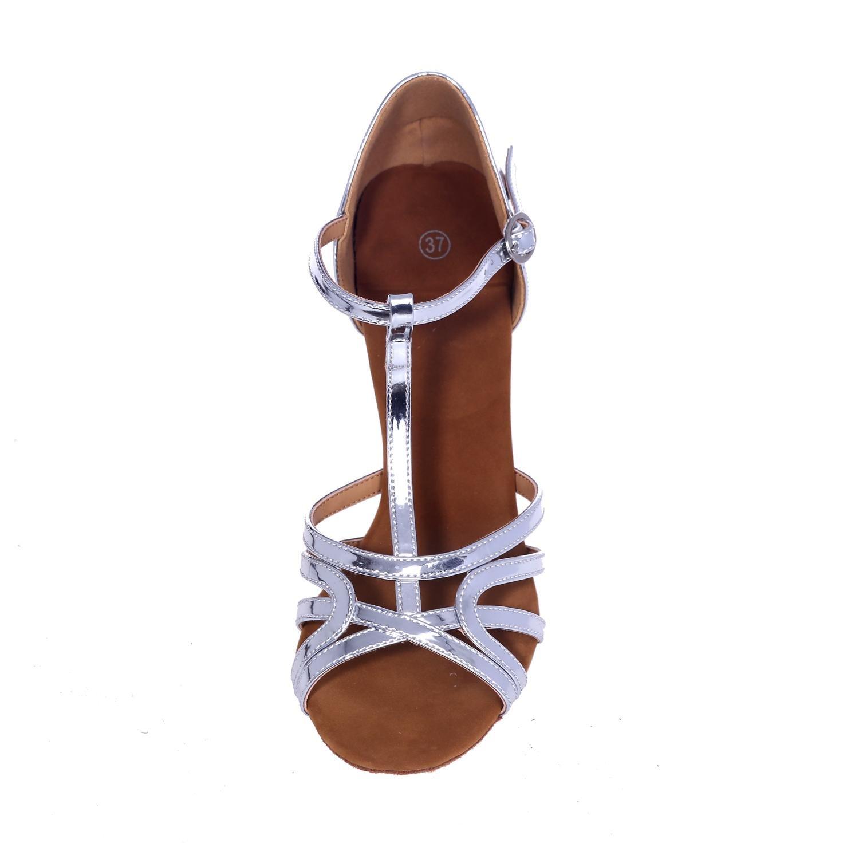 L@YC Frauen Latin Tanzschuhe Kunstleder Sandalen Sandalen Sandalen Performance Criss-Cross Die feine Ferse B076MYD6CP Tanzschuhe Sonderaktionen zum Jahresende ae0df4