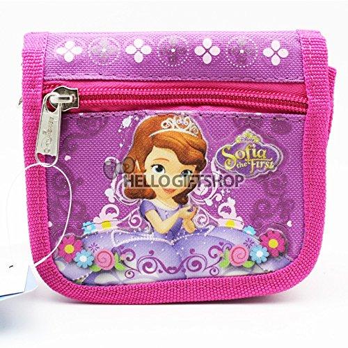 Disney Sofia the First Girls Shoulder Purse Wallet