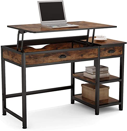 Tribesigns Modern Lift Top Computer Desk