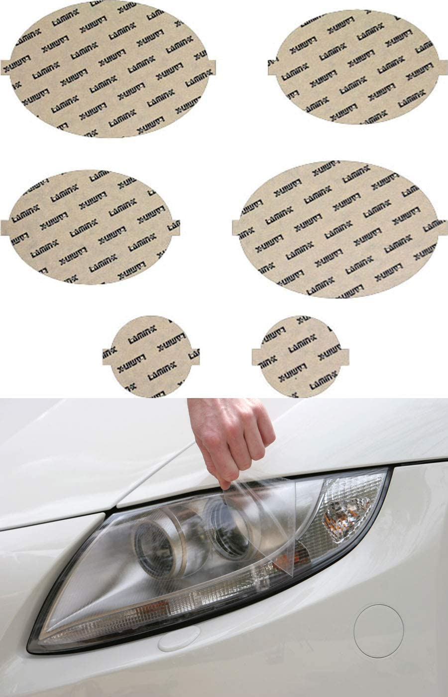 Lamin-x JG002CL Headlight Cover