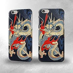 Japan Dragon Art- Funda Carcasa para Apple iPhone 6