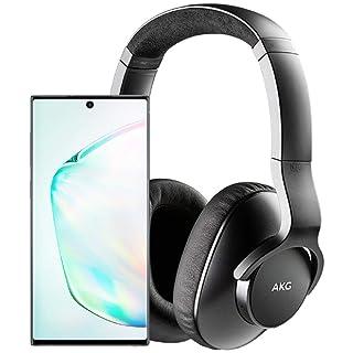 Samsung Galaxy Note 10 Factory Unlocked Cell Phone with 256GB (U.S. Warranty), Aura Glow (Silver) Note10 w/AKG N700NC M2 Headphones