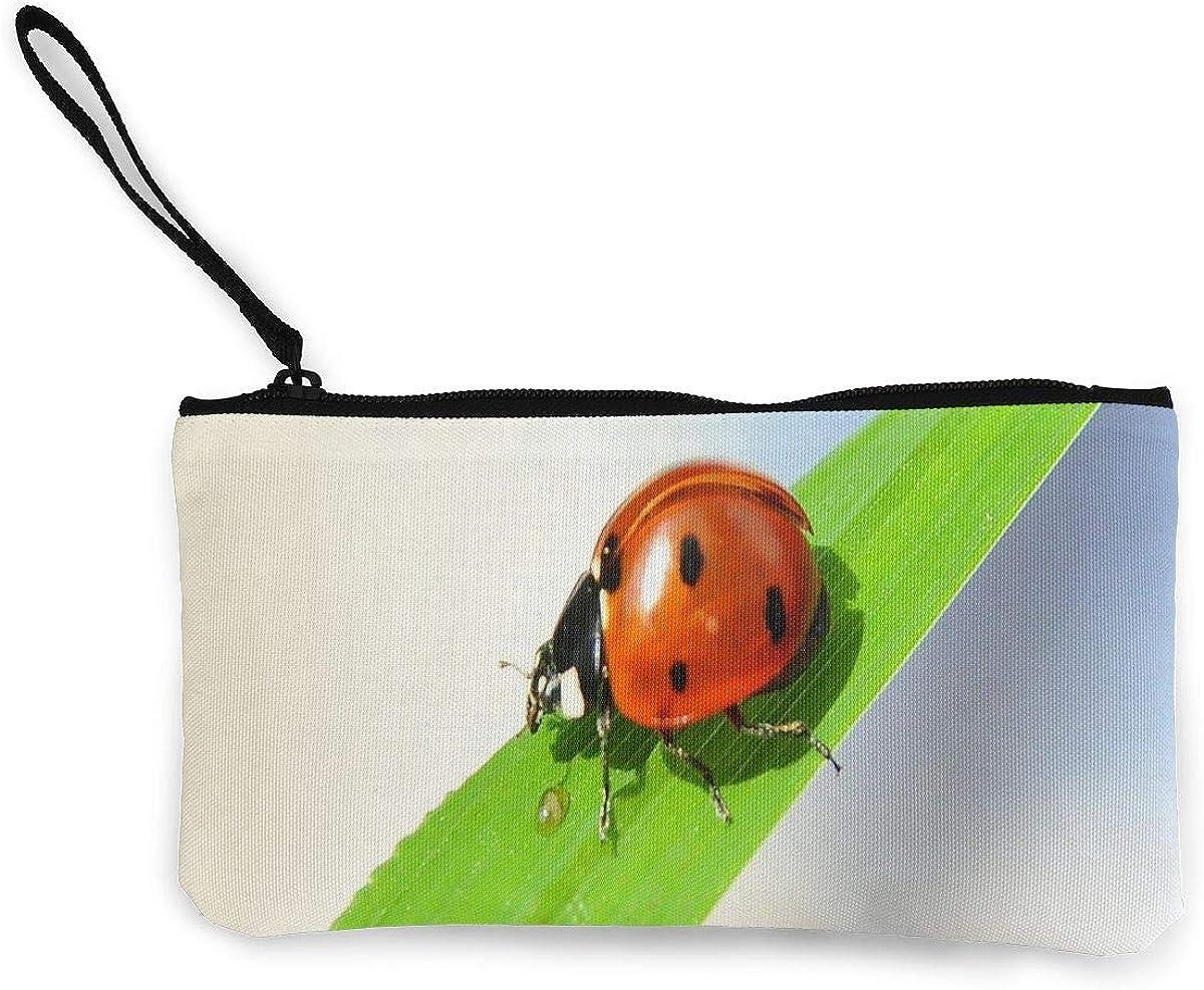 Coin Purse Ladybug Zipper...
