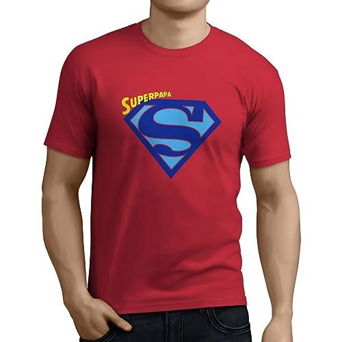 Camiseta Superpapa - Regalos para el día del Padre