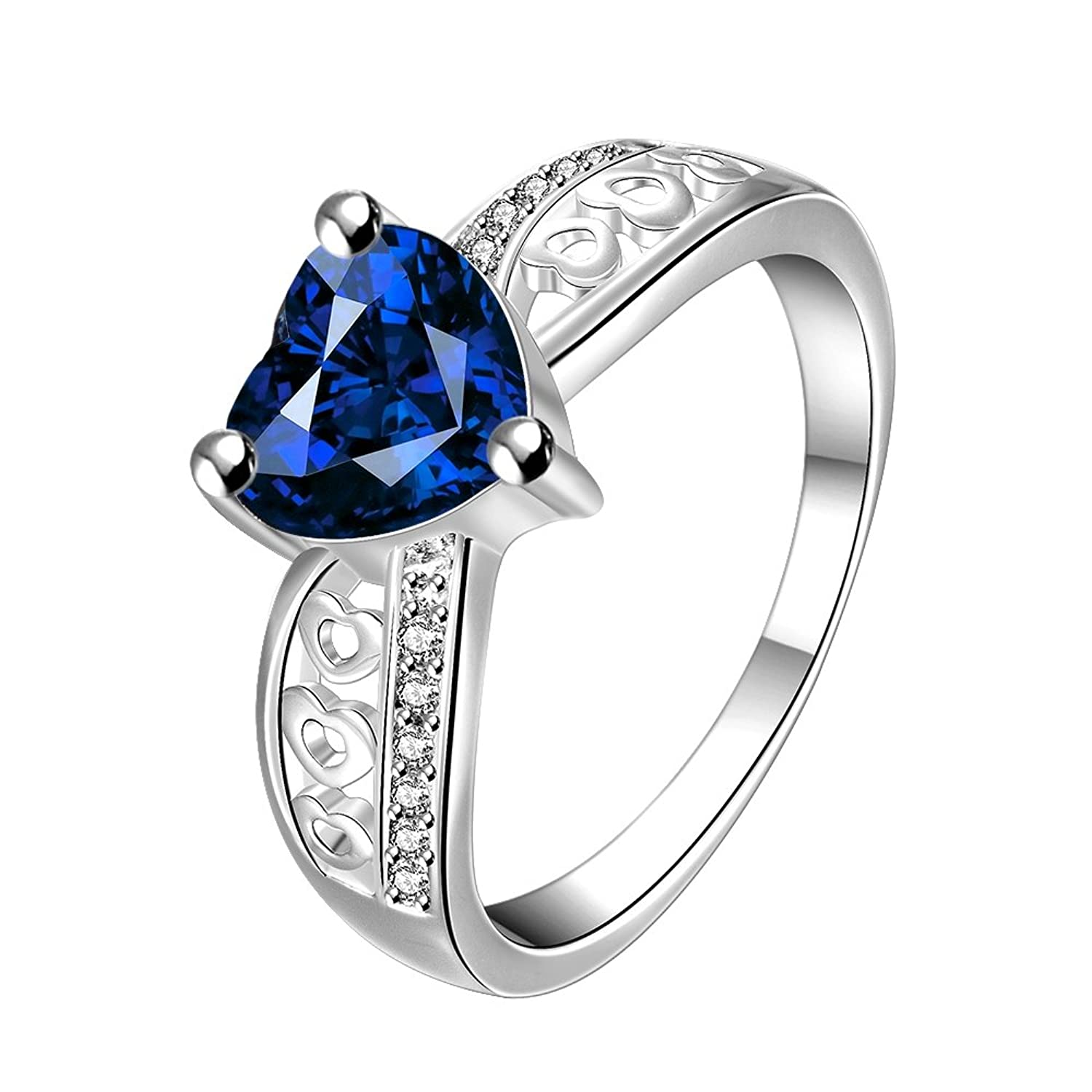 gold blue stone royal cluster webstore rings sapphire ring created type jewellery number product l white