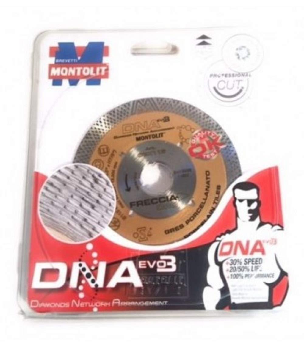 CGX 115 DIAMETRO 115MM CORONA CONTINUA FRECCIA ORO MONTOLIT LAMA DISCO DIAMANTATO MONTOLIT DNA EVO3 M