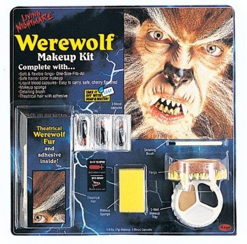 WMU 551566 Living Nightmare Werewolf Kit - 3 Color Makeup]()