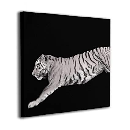 Amazon.com: Hanging Decorations Animal Black and White Tiger Wall ...