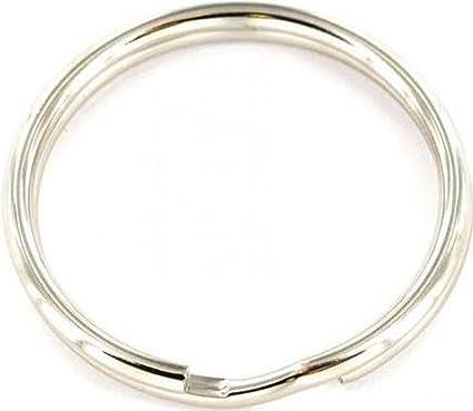 Securit S6886 Np 30 mm X4 acero anillas de llavero: Amazon ...