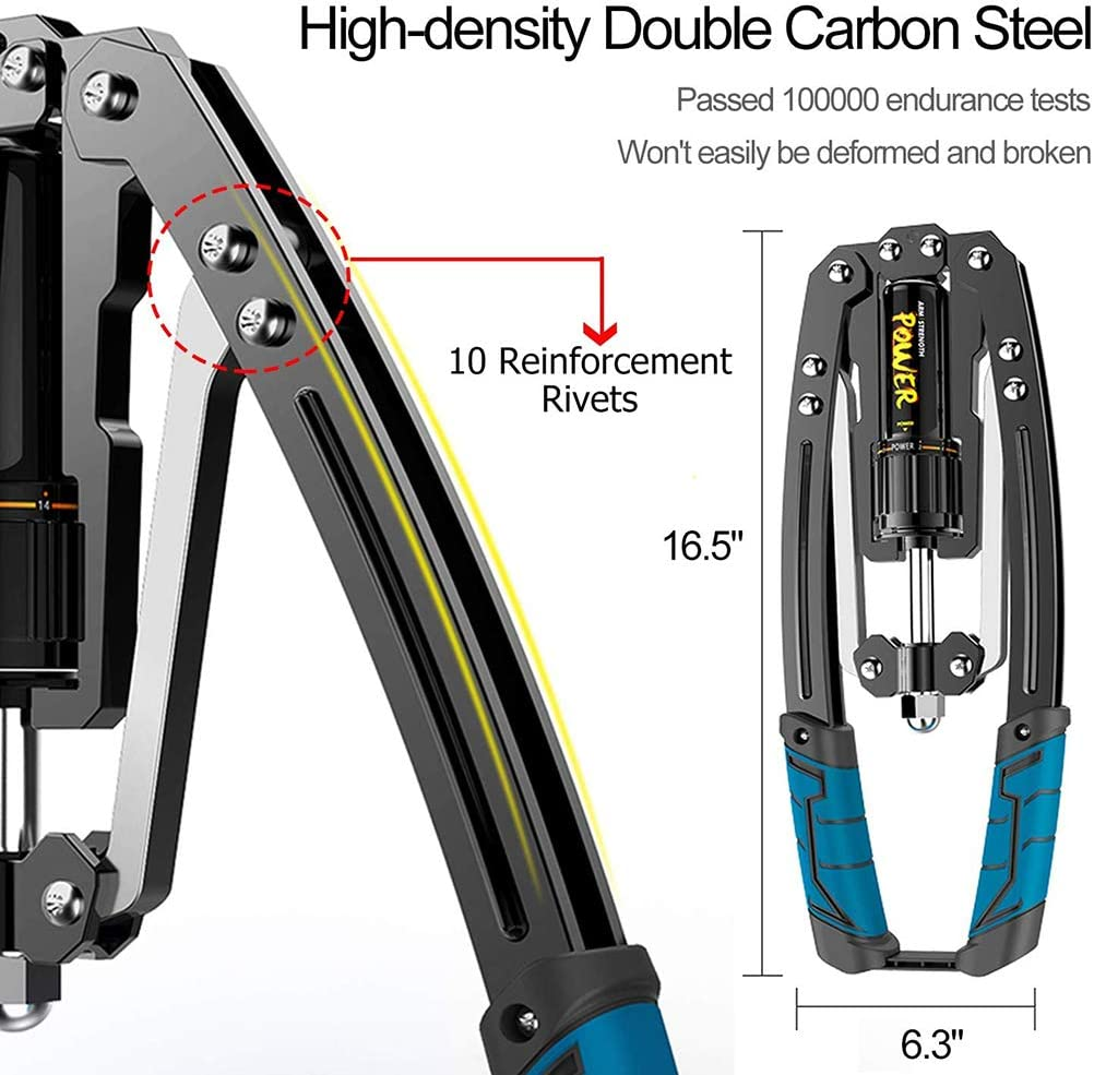 Ajustable Hidr/áulica Power Twister Brazo Ejercicio de Arco en el Hogar Expansor Muscular Hombro Equipo de entrenamiento Fitness HEREB Brazo Fuerza